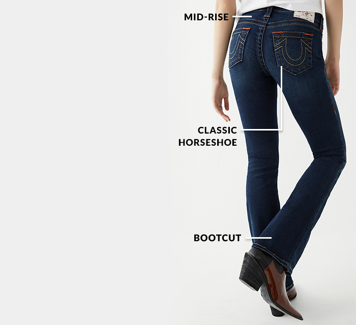 Womens Denim Fit Bootcut