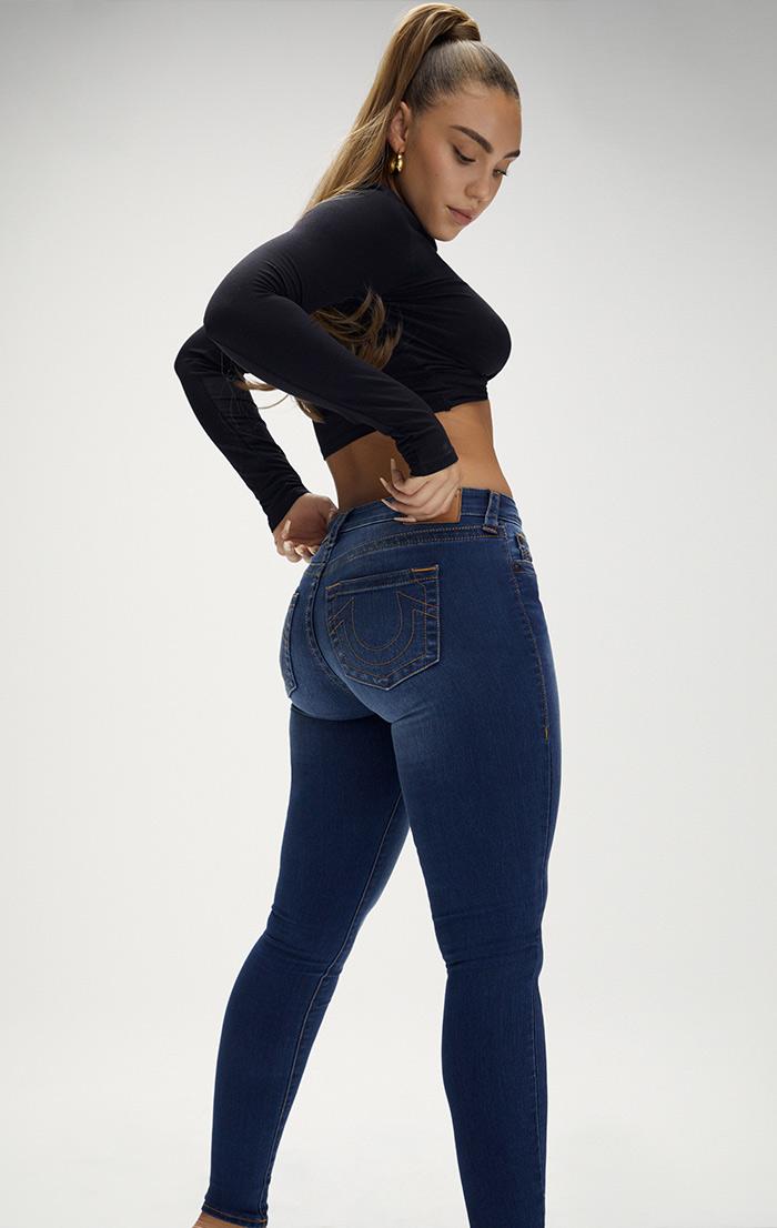 Womens Curvy Skinny Editorial