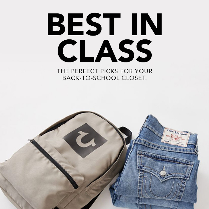 Best in class. The perfect picks for your back-to-school closet.