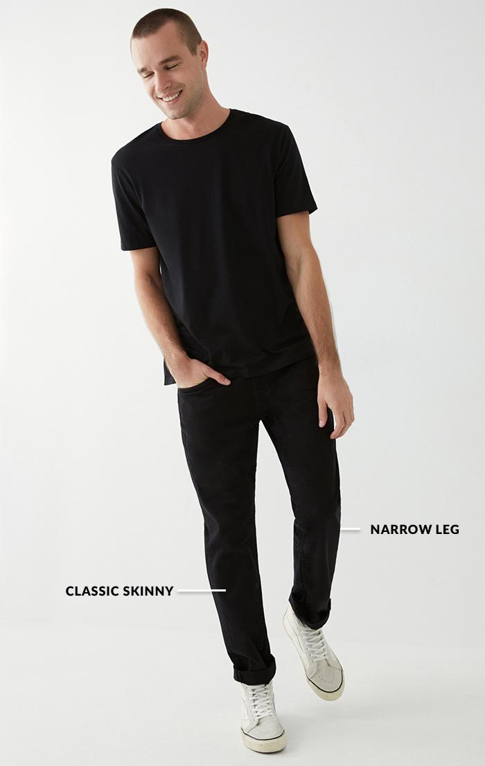 Mens Skinny Full Body