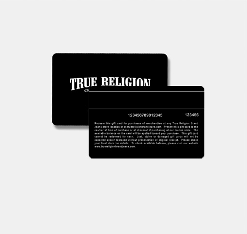 True Religion Gift Card