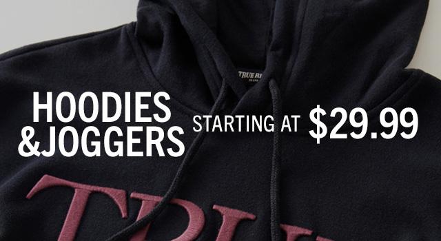 Hoodies Joggers Starting At $29.99