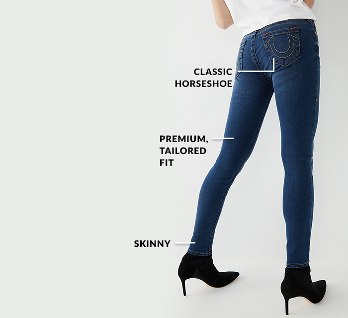 Womens Denim Fit Super Skinny