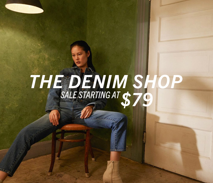 Womens Denim Shop. Sale starting at $79.