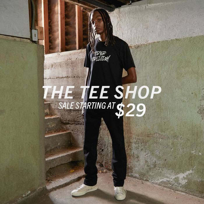 Mens Tee Shop. Sale starting at $29.