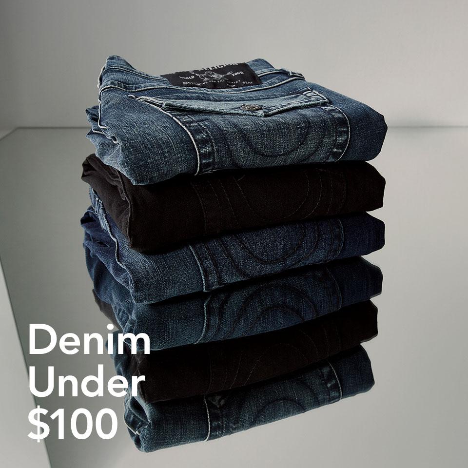 Denim Under $100