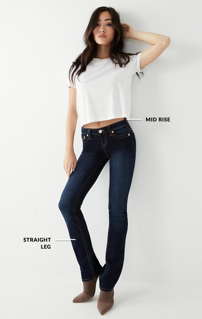 Womens Straight Full Body