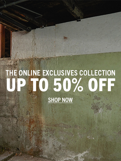The Online Exclusives Collection. Up to 50% Off. Shop Now.