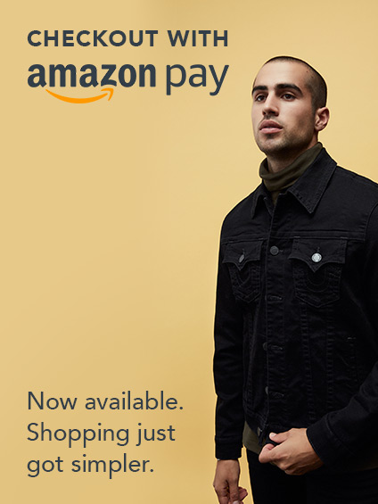 Checkout with AmazonPay now available. Shopping just got simpler.