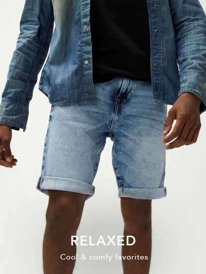 Mens Relaxed Shorts.