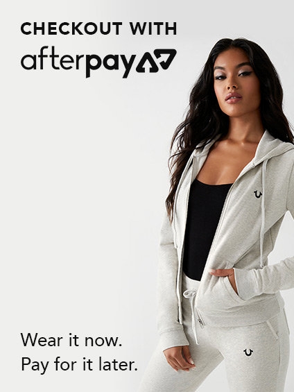 Checkout with AfterPay now available. Shopping just got simpler.