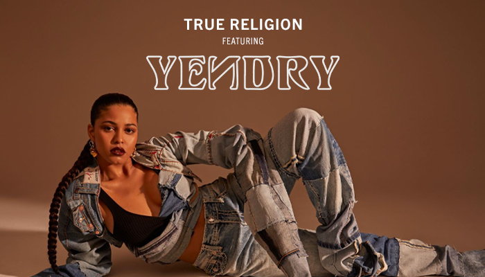 True Religion Featuring YENDRY