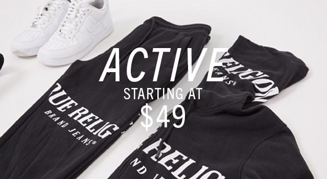 Active starting at $49.